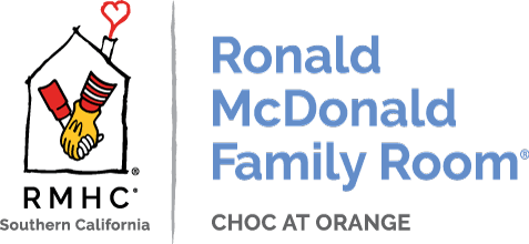 Ronald McDonald Family Room at CHOC Children's of Orange Logo