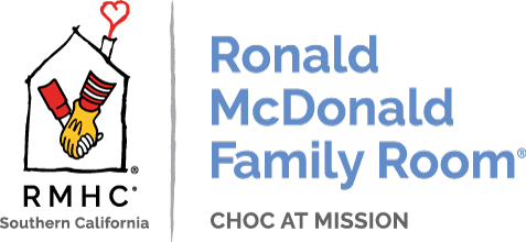 Ronald McDonald Family Room-CHOC at Mission Viejo Logo