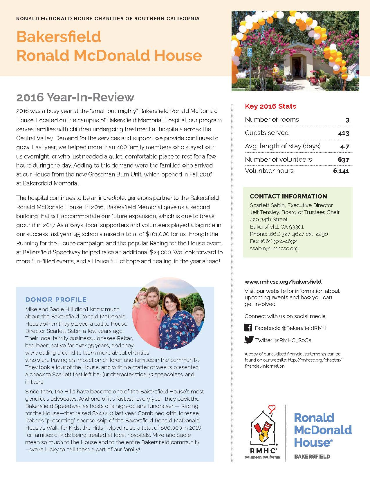 thesis statement over ronald mcdonald charitys Mission statement ronald mcdonald house charities of southern colorado's mission is to lift children and there are over 300 ronald mcdonald houses throughout.
