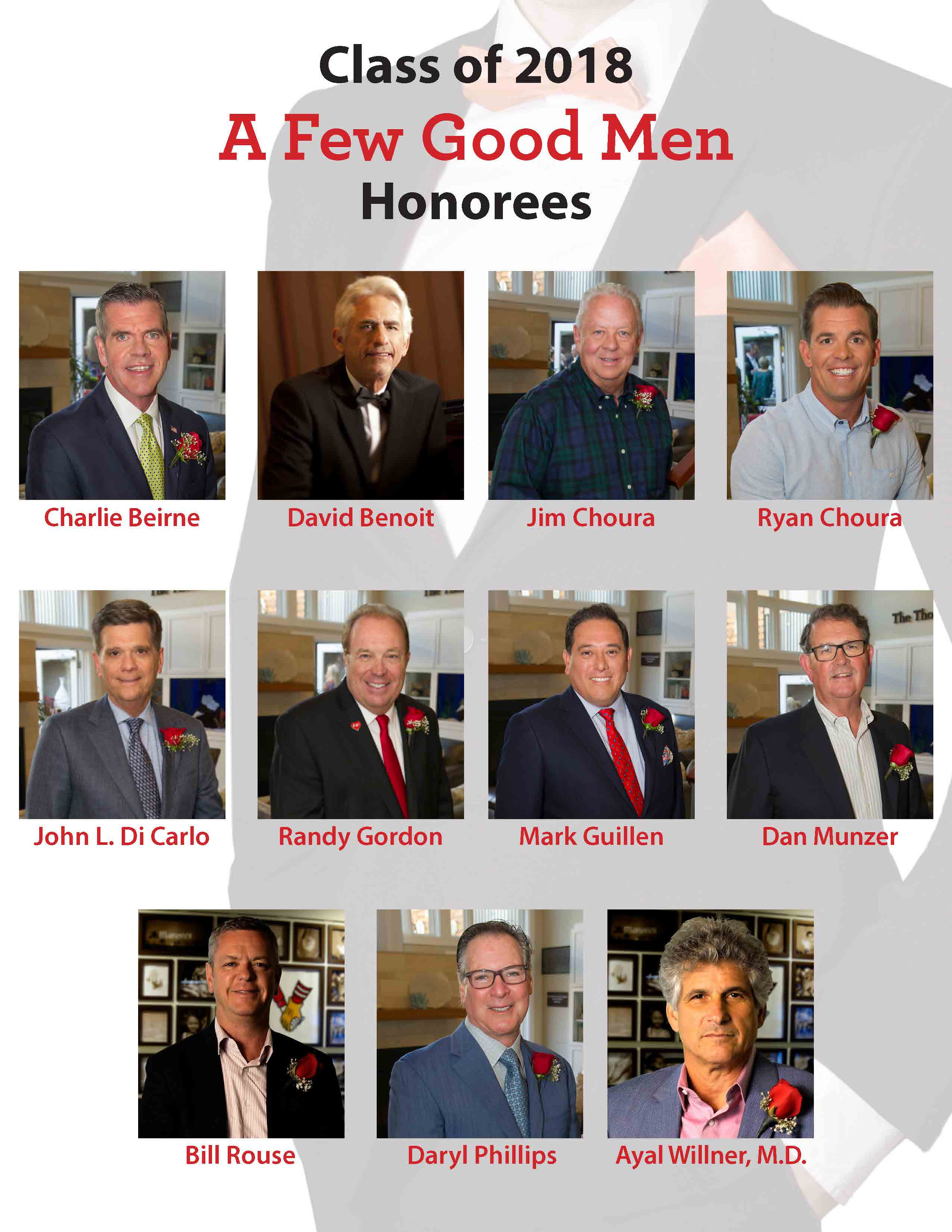 Honorees Photos collage