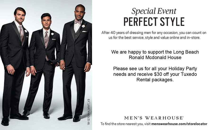 Men's Wearhouse flyer