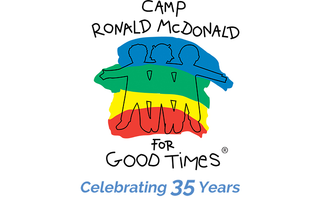 Camp Ronald McDonald for Good Times 35th Anniversary Logo