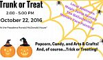 Pasadena Ronald McDonald House Trunk or Treat!