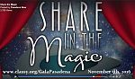 2016 Share in the Magic Gala Logo