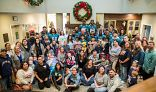 Group Photo of the Philadelphia Eagles at the Orange County Ronald McDonald House