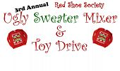 3rd Annual Red Shoe Society Ugly Sweater Mixer & Toy Drive