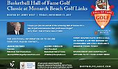 Basketball Hall of Fame Golf Classic Flyer