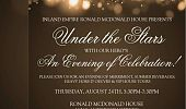 Under the Stars With Our Hero's,  An Evening of Celebration Flyer