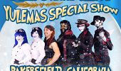 It's a Very Steam Powered Giraffe Yulemas Special flyer
