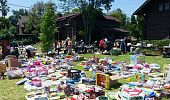 Yard sale at the Pasadena Ronald McDonald House