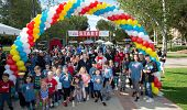Start Line for the 2019 Walk for Kids