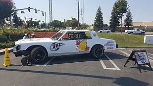 Racing for Ronald White Stock Race Car