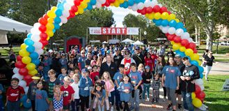 2019 Walk for Kids Starting Line