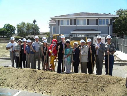 Groundbreaking for the new  IERMH House