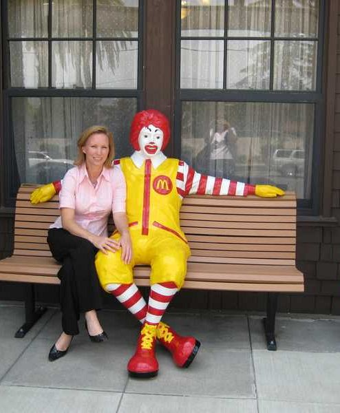 Marchelle Sellers at the Pasadena Ronald McDonald House