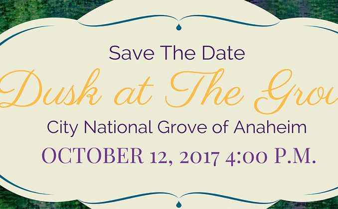 Save the Date Dusk @ the Grove