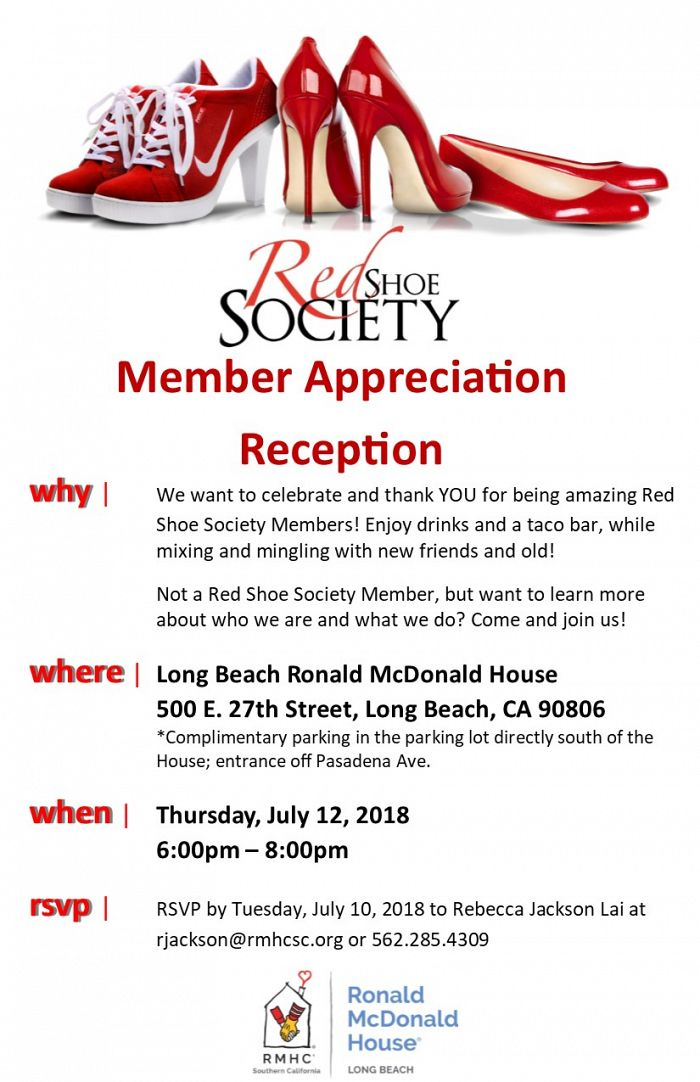 Reception Flyer