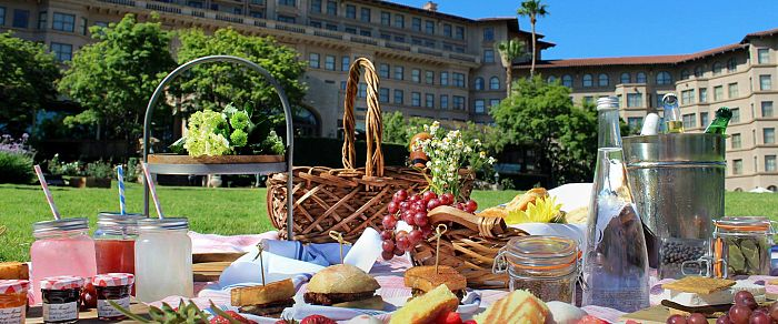 California Dreamin' at The Langham Picnic Photo