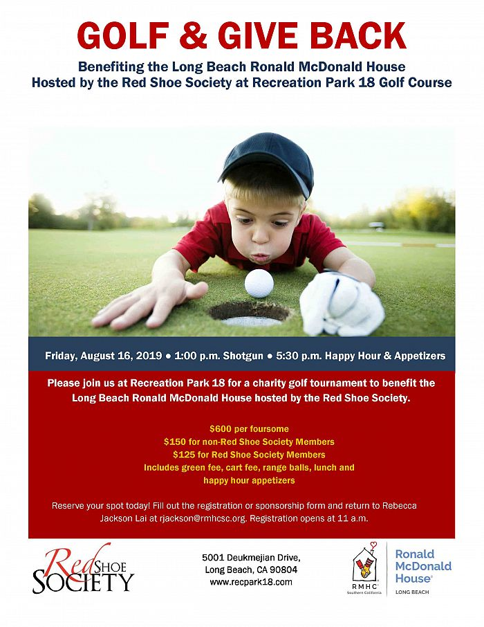 GOLF & GIVE BACK