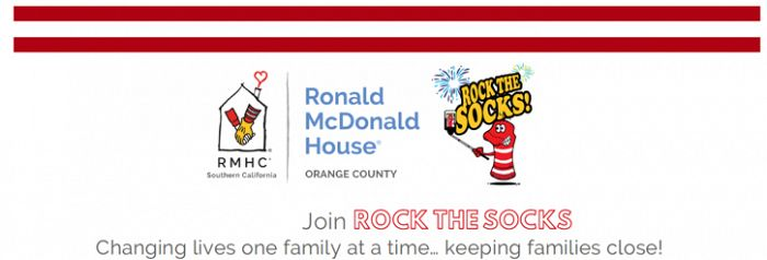 Rock the Socks Banner