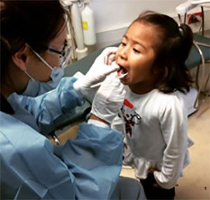 Child Getting Dental Work