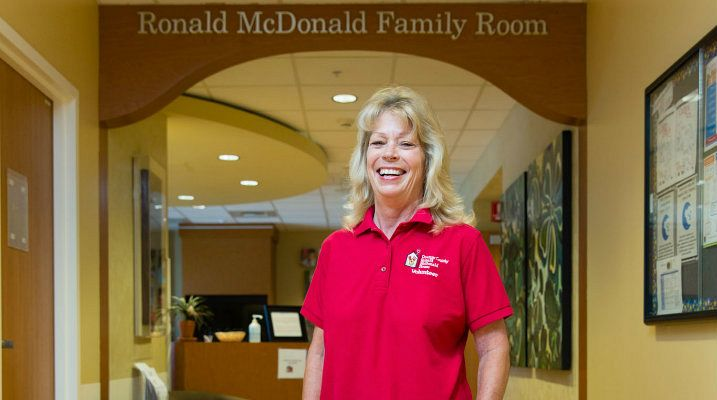 Become a Volunteer for the Ronald McDonald Family Room in CHOC Children's