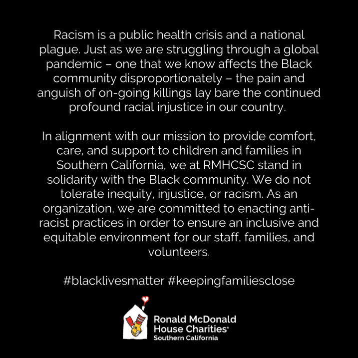 LBRMH BLM Statement