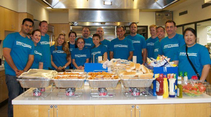 Group Volunteers: Los Angeles Ronald McDonald House
